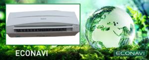 Panasonic Air Conditioner, econavi