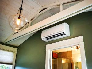 air con in queenslander home